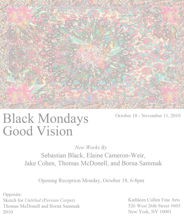 Black Mondays Good Vision